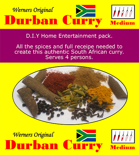 SA Durban Curry Natal style Spice and recipe